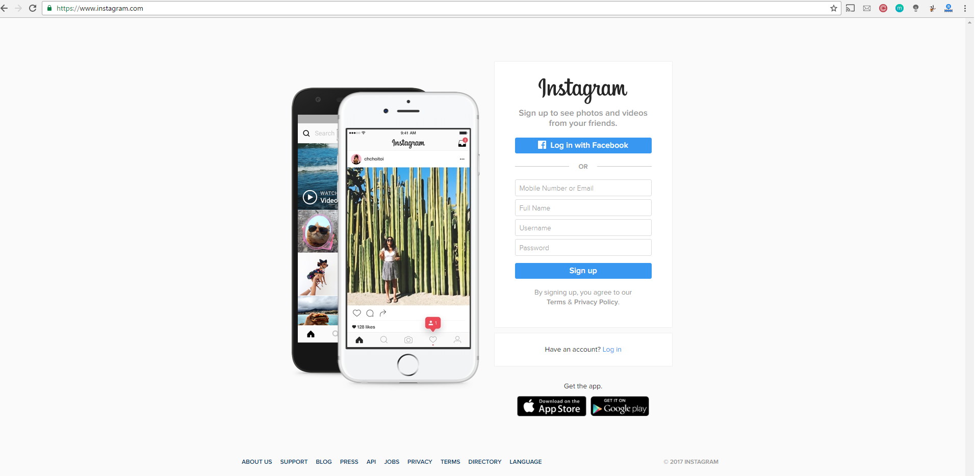 Why can't I sign up for Instagram online on the web? - Quora