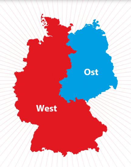 Apa perbedaan bekas wilayah Jerman barat dan Jerman timur ...