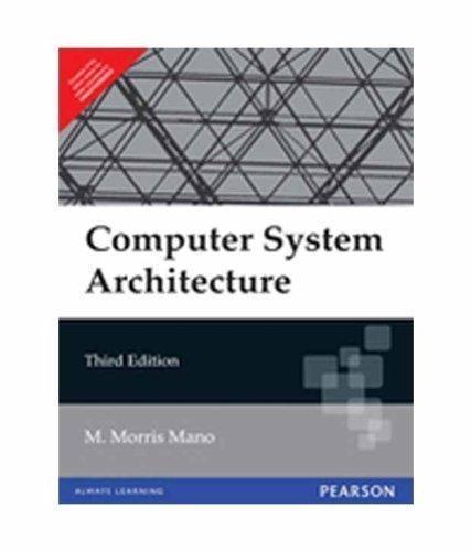 Computer Organization By Morris Mano Notes
