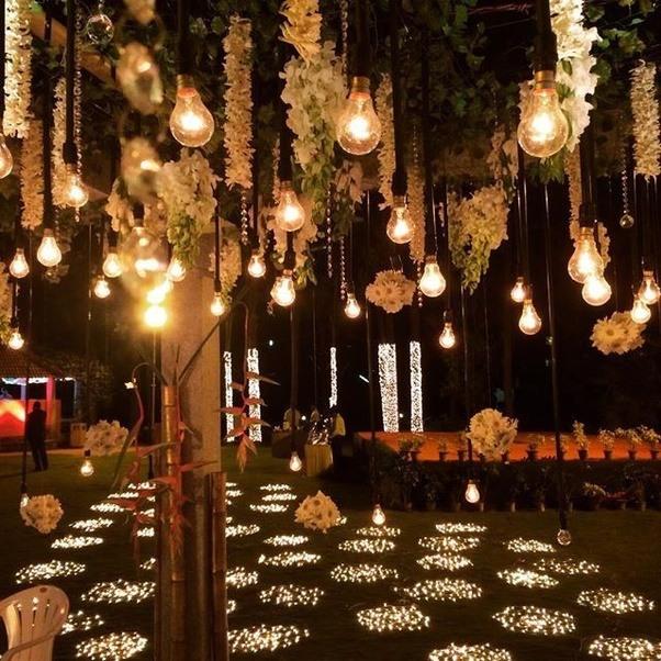 White indian lantern wedding decor t
