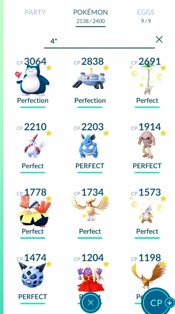 100 Iv Pokemon Go