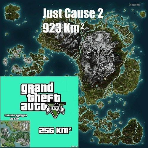 Why does the gta 5 map feel smaller than the gta in san andreas quora the game just feels smaller because of an element called draw distance back when san andreas was launched computers werent as powerful like today gumiabroncs Gallery