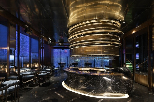 I Believe The Best Is Presently Fei Bar At W Guangzhou Which On Corner Of Xingsheng And Xiancun Lu It Was Designed By Architect Celebrity
