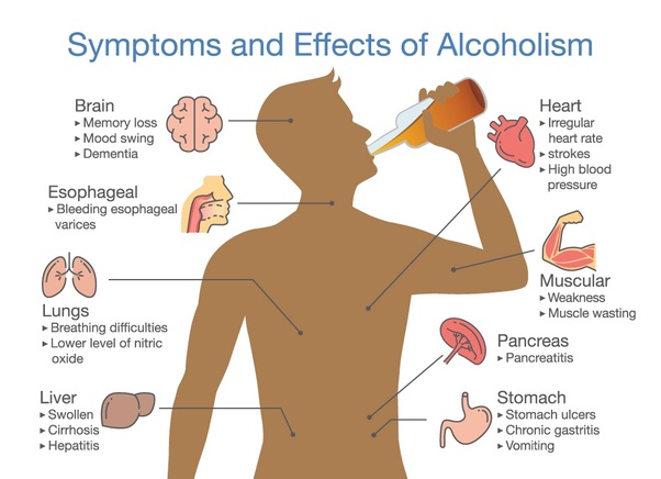 What are the harmful effect of having excess alcohol? - Quora