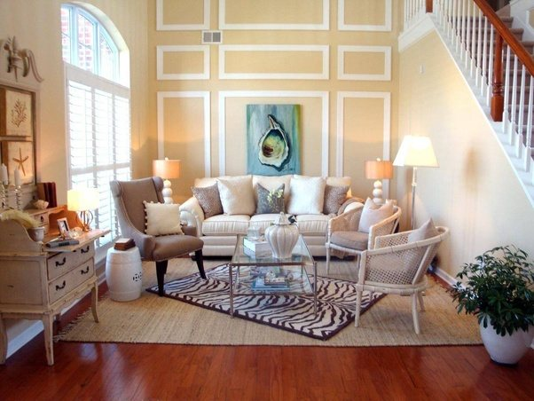 The Living Room Furniture U0026 Decor Must Be Comfortable U0026 Beautiful. The Living  Room Decor Depends On The Size Of Your Room .