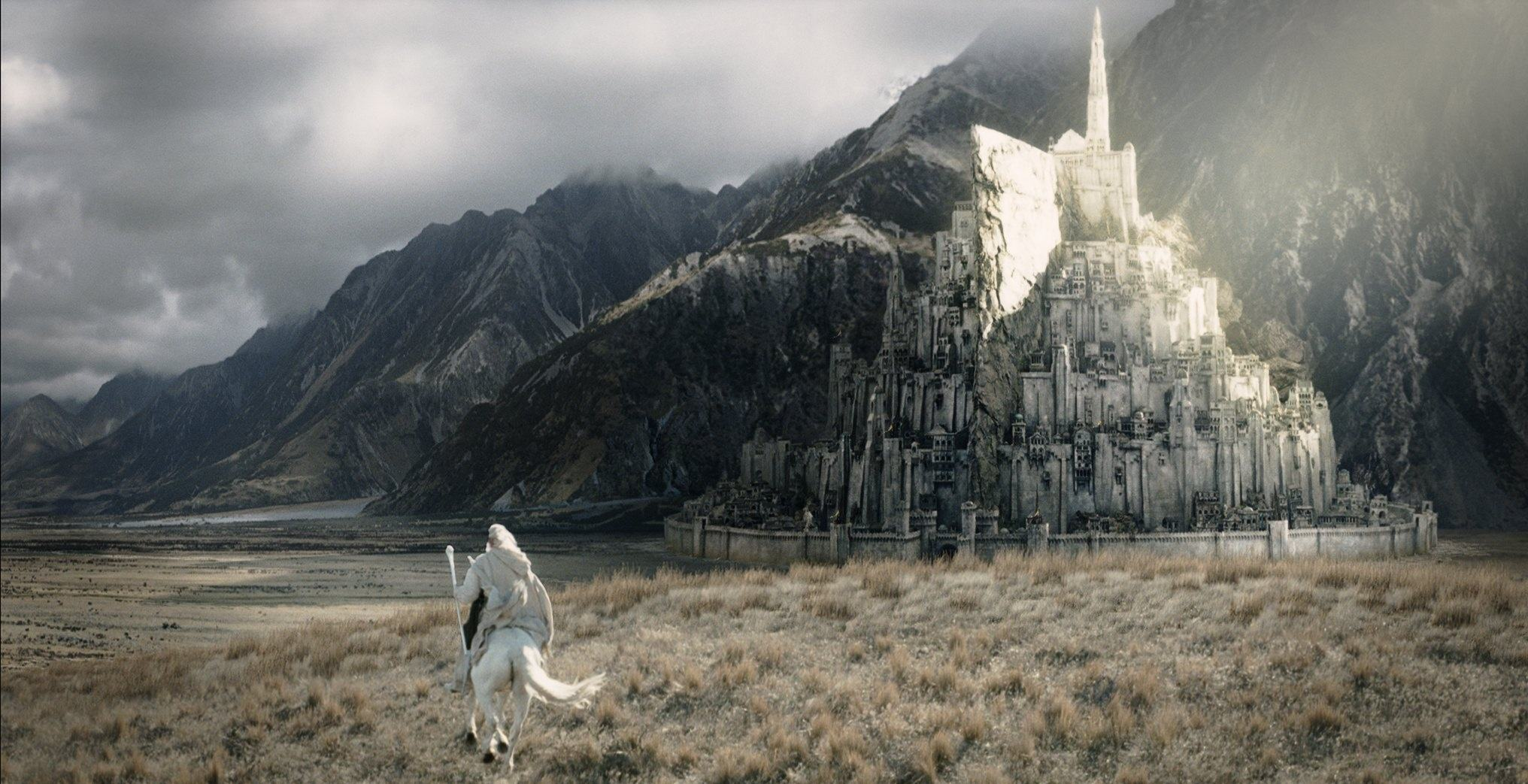 Was the cinematography in the Lord of the Rings series somehow ...