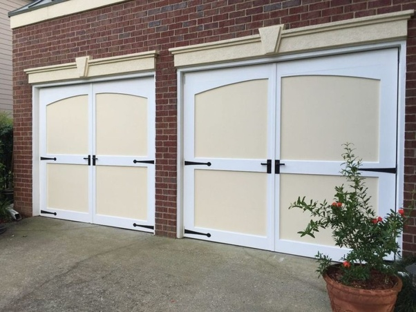 How To Fix A Swing Out Carriage House Garage Door That Wont Open
