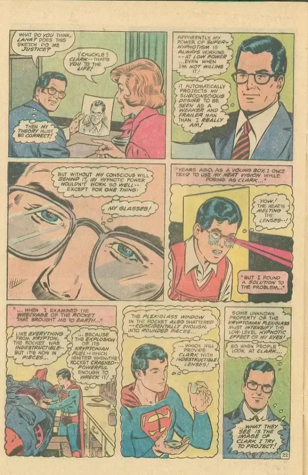 How On Earth Did The Writers Ever Think That Just Putting Glasses On