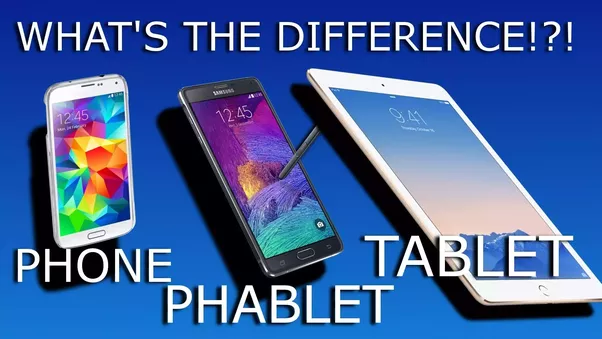 What is the Difference Between Tablet and Phone?