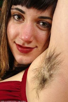 with armpits ladies Hairy
