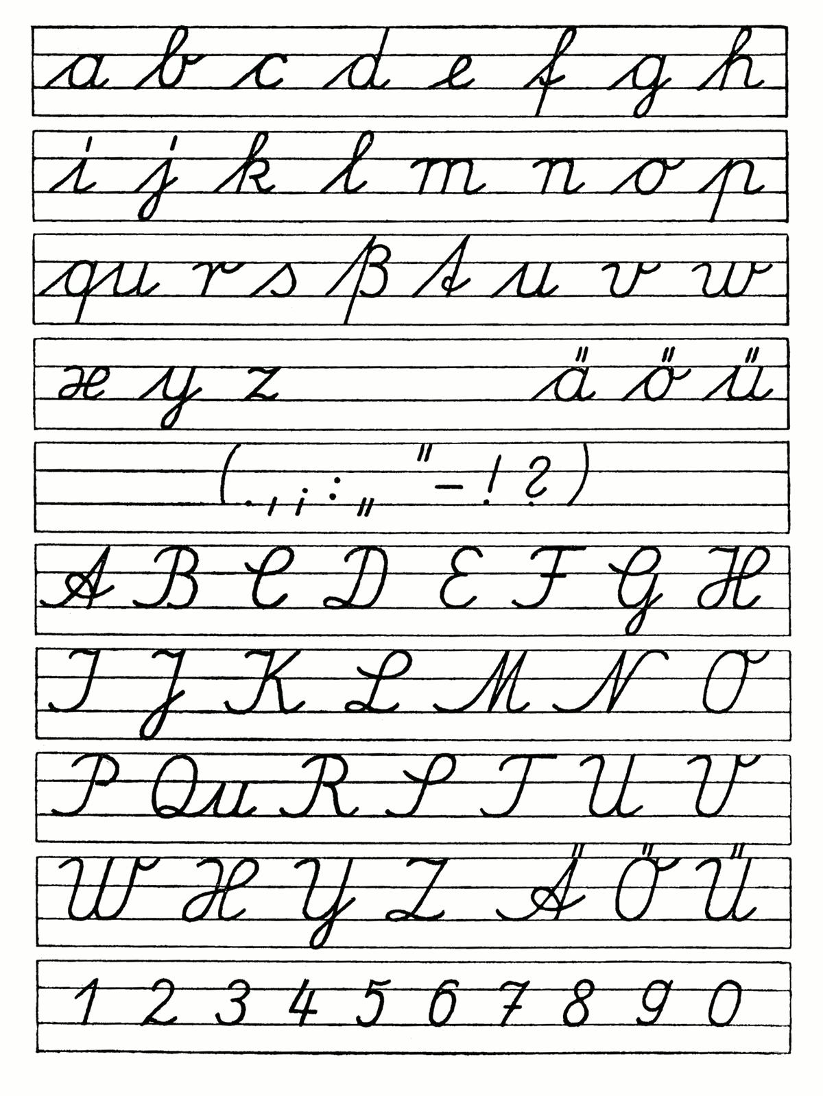 How to improve my English cursive writing - Quora