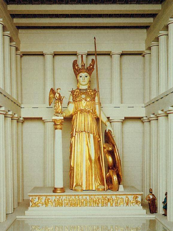 What Colors Are Associated To The Goddess Athena And Why Quora
