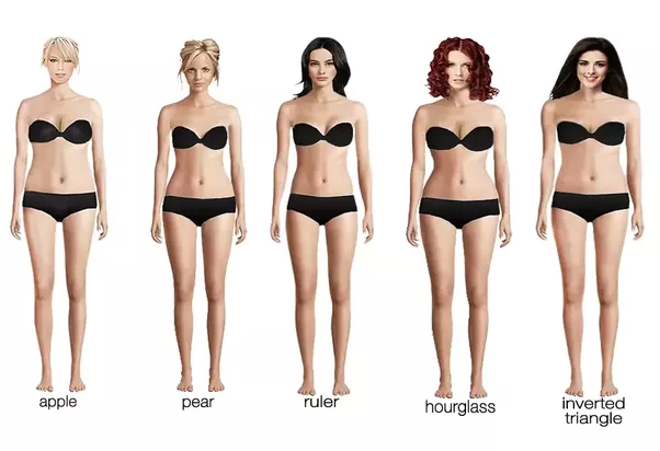 Slim curvy women