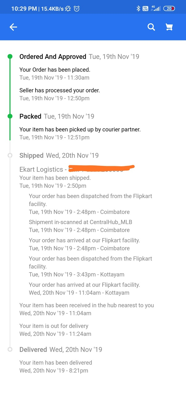 Logistics: Why is Delhivery extremely slow in shipment? - Quora