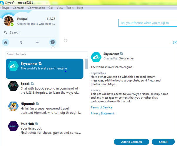 5. Use Skype as a security camera. Who knew that Skype could become a makeshift security camera? You can, with a simple set up. First, get a second account, which will be your dedicated viewing account. Sign into this new account on your home PC, and place your webcam in the direction you want.