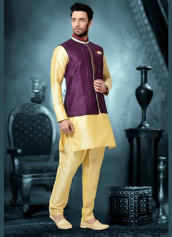 Which type of sherwani should i wear in my brother s for Dress for my brothers wedding