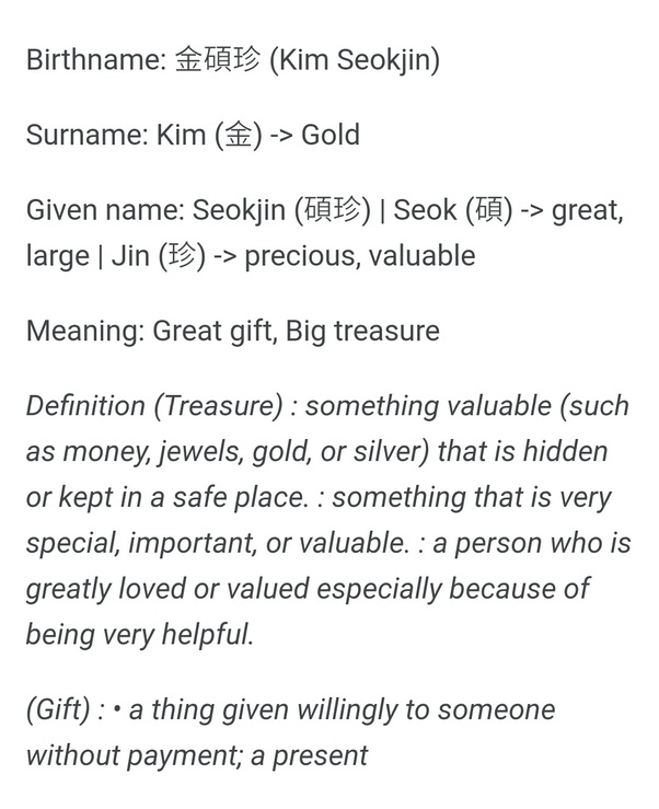 What would be the BTS members' English names if they had one? - Quora