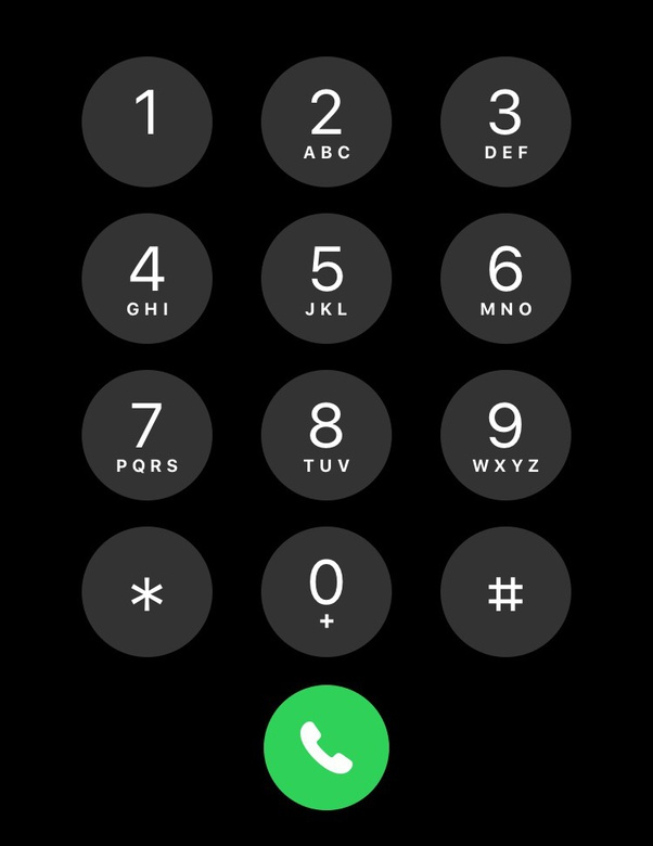 Why do many public American telephone numbers have letters in them? - Quora