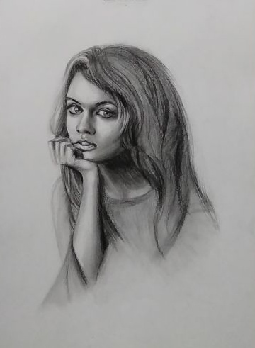 Hello guys im a professional sketch artist based in delhi i have a long experience in charcoal pencil sketch drawing have a look at my sample works