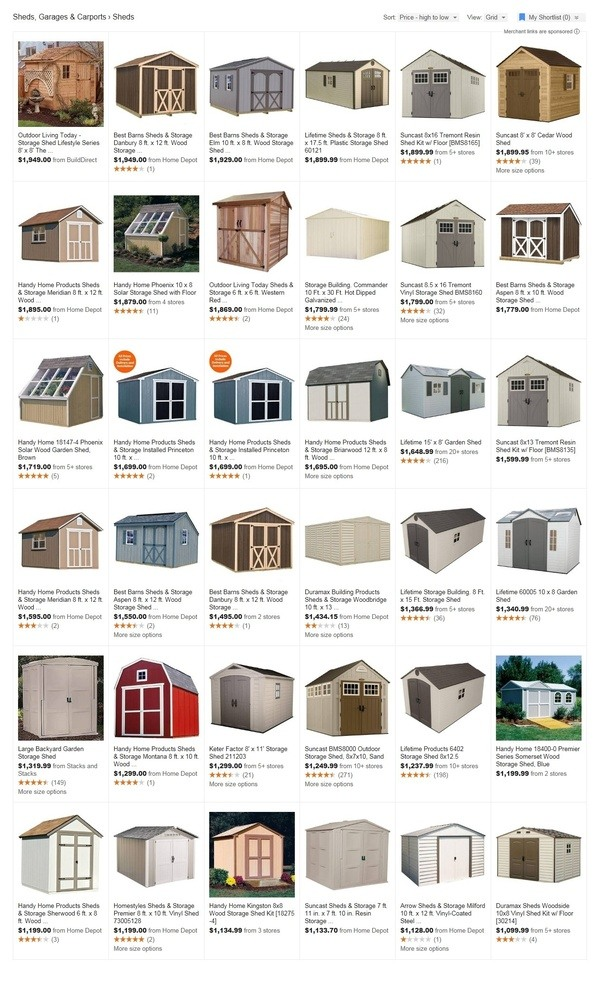 Roughly how much should it cost to build your own shed for How much will it cost to build a shed