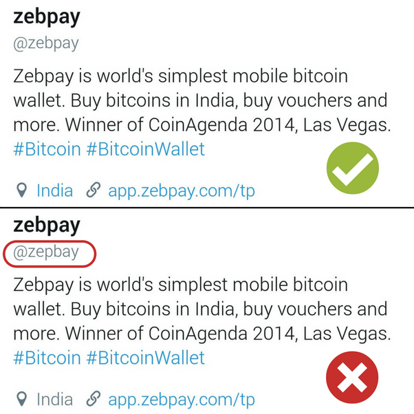 How safe is zebpay wallet for bitcoin quora real vs fake zebpay twitter account ccuart Gallery