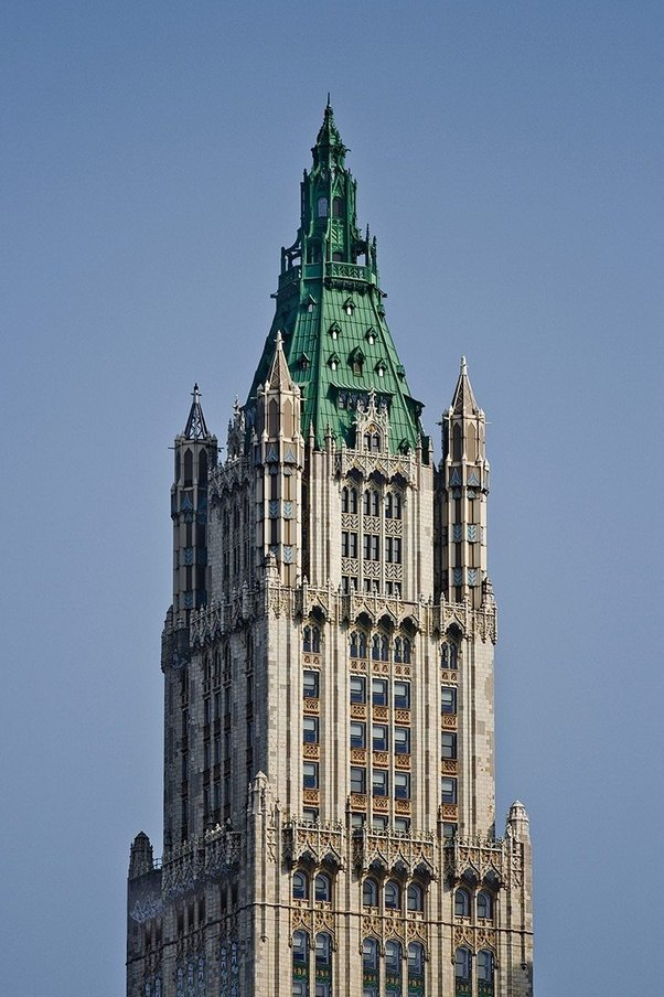 New Yorks Woolworth Building