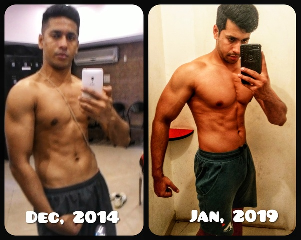 For an ectomorph, how many days should one do weight
