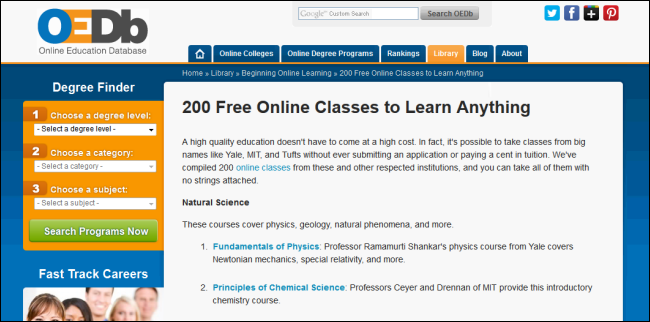 are there free online courses with free certification quora