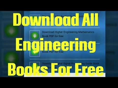 how to download engineering books free quora