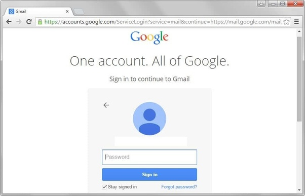 I forgot my Gmail password  How can I find my password? - Quora