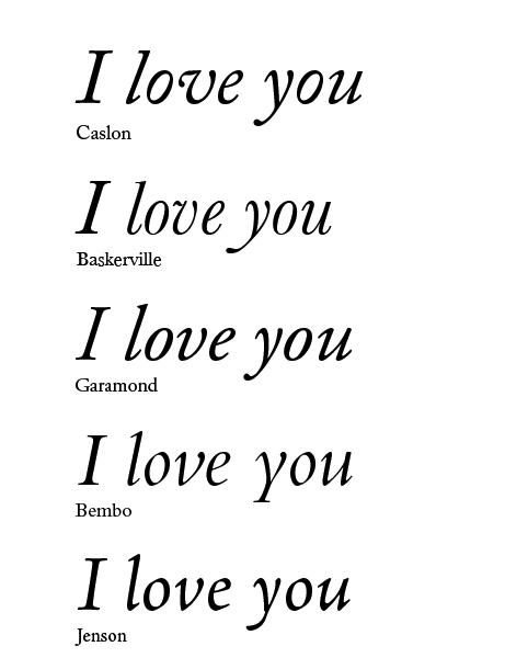 What is the best font for your valentines day greeting card quora i dont think you can go wrong with a beautiful old style italic like one of these m4hsunfo