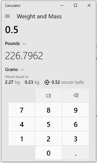 How Many Grams Are In Half Of A Pound Quora