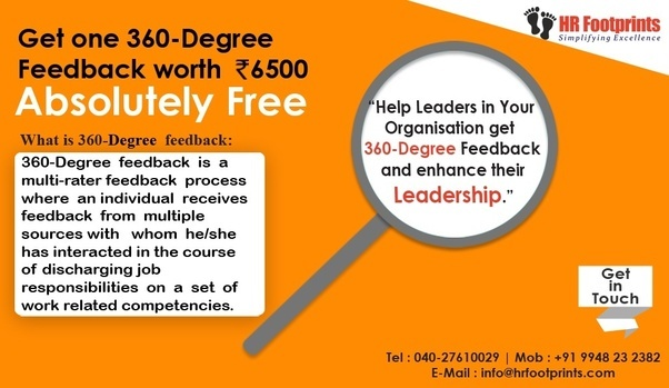 360 degree feedback and its effect Have you heard of a 360 degree appraisal what is a 360 degree appraisal - definition & examples in that it obtains feedback from co-workers and.