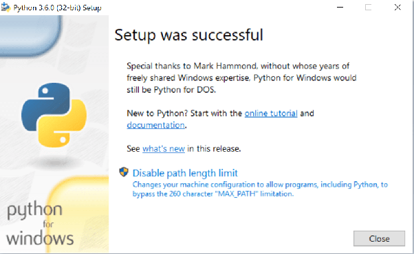 What is the best way to install Python on a Windows 10