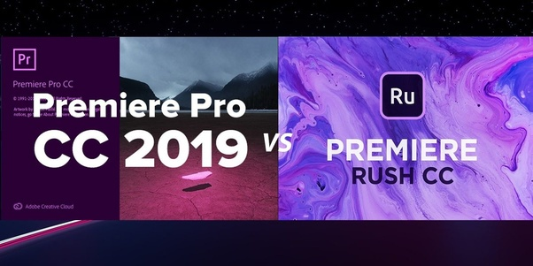 What's the difference between Adobe Premiere Rush CC and