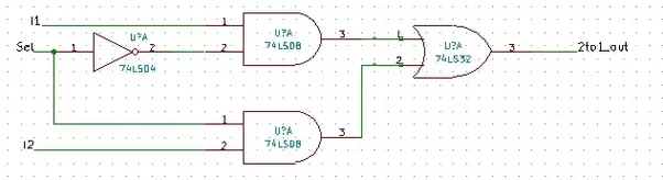How To Design An 8x1 Multiplexer With Two 4x1 Multiplexers