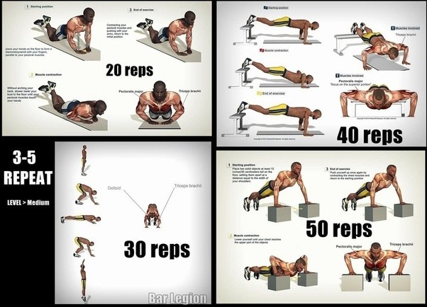 Heres A Great Home Chest And Arm Workout
