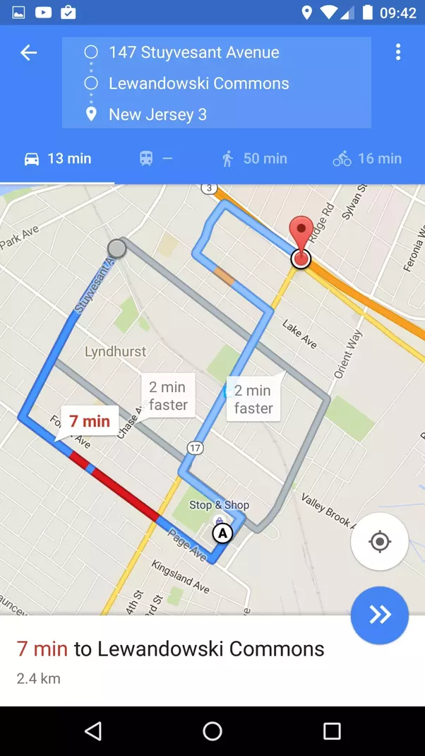 How To Add A Via Point To My Journey In Google Maps IOS App Quora - Track my route on google maps