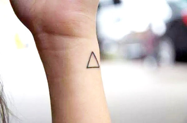 Why Do Hipsters Get Tattoos Of Tiny Triangles Quora