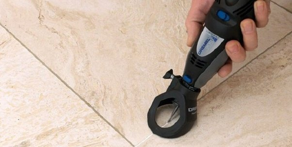 How To Remove Grout With Dremel Quora