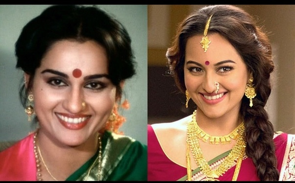 Why does Reena Roy look like Sonakshi Sinha? - Quora
