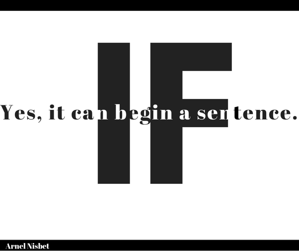 Can you use the word but to begin a sentence