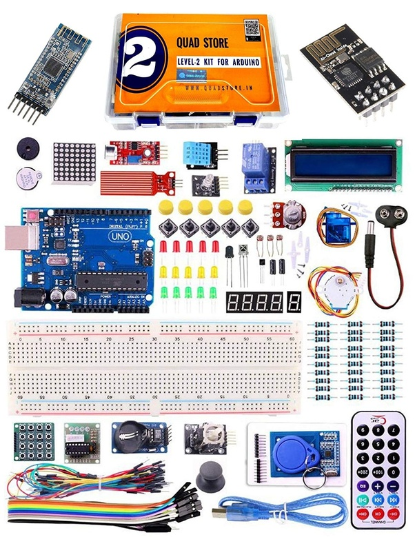 Which starter kit is the best for Arduino in India? - Quora