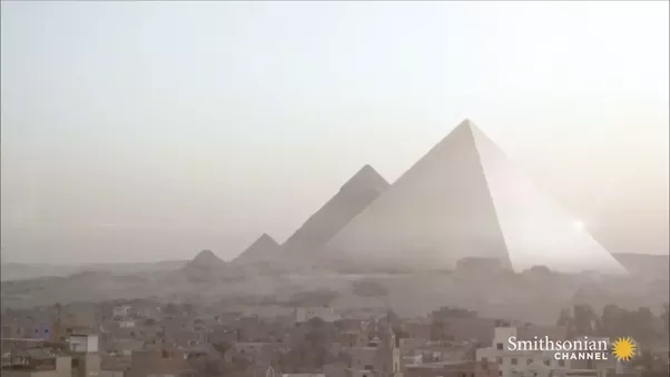 What Did The Colosseum And The Pyramids In Egypt Look Like