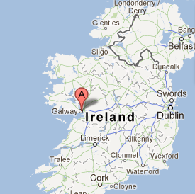 Map Of Ireland Galway.Where Is Galway Ireland Quora