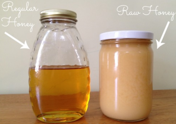 raw vs regular honey