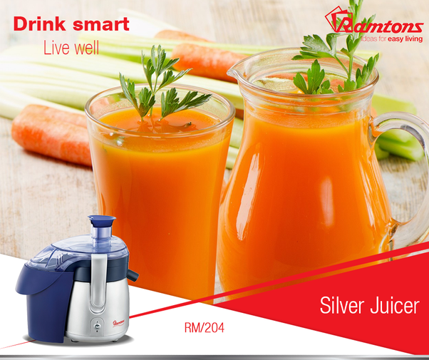 What is the difference between a juice extractor and a