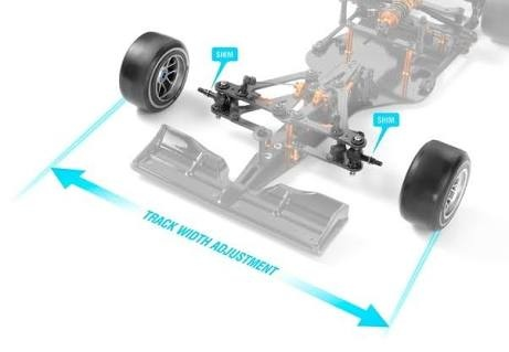 What will be the front or rear track width in a go kart? - Quora