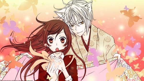 Hes A Kitsune Demon With Dark History He May Be Better Than Was But Still Has That Bad Yokai Aura Shes Just Normal Troubled Girl Who