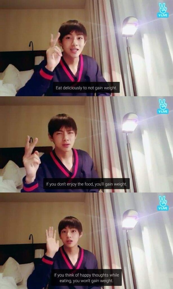Do any of the BTS member's diet? And if they do, what type